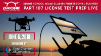 Drone School Miami Classes Part 107 License Test Prep & Drone Business Marketing