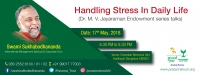 Handling Stress In Daily Life