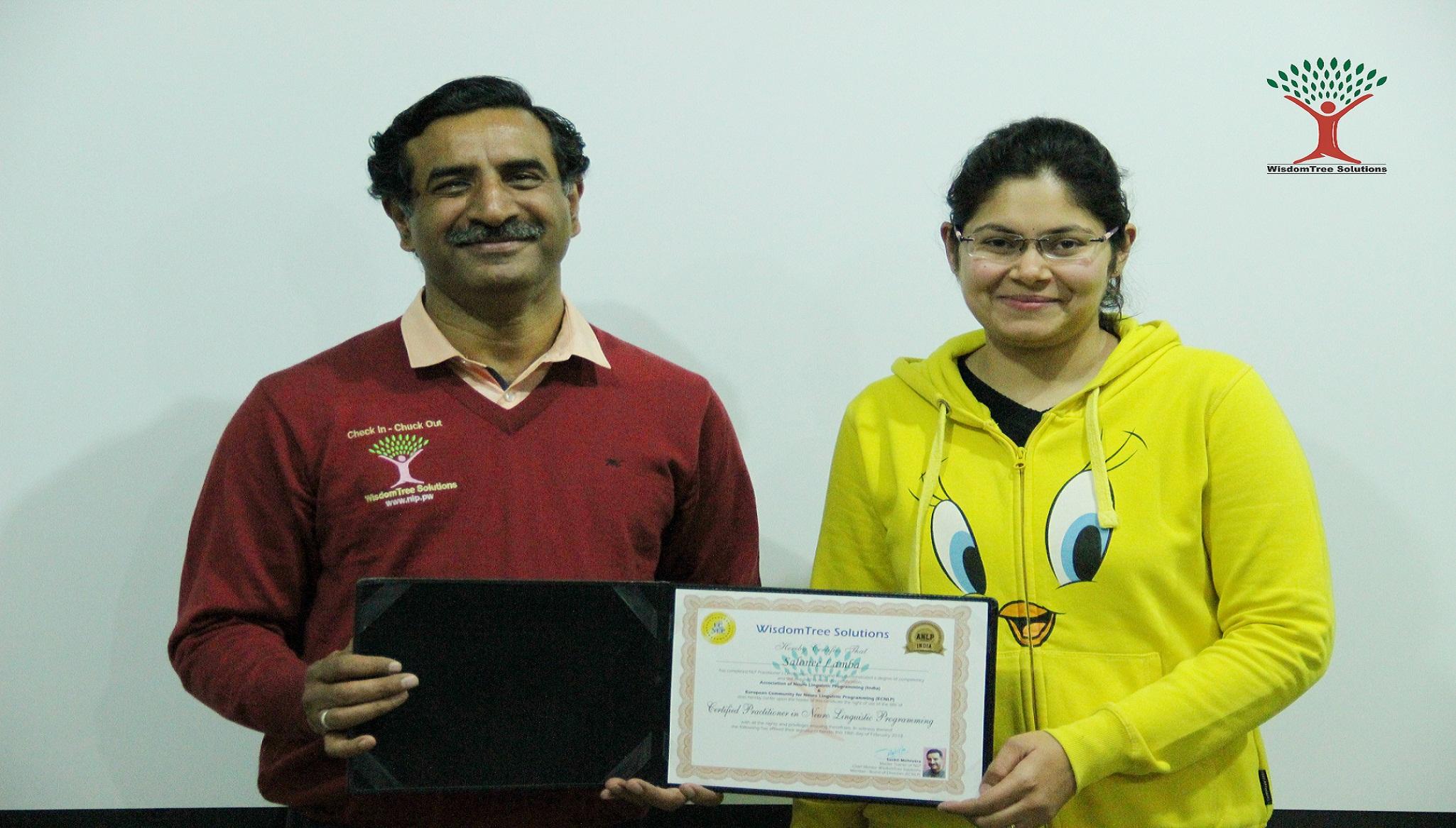 NLP Practitioner Certification, New Delhi, Delhi, India