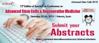 Top Stem Cells Conferences and Regenerative Medicine Conferences 2018 in Valencia Spain