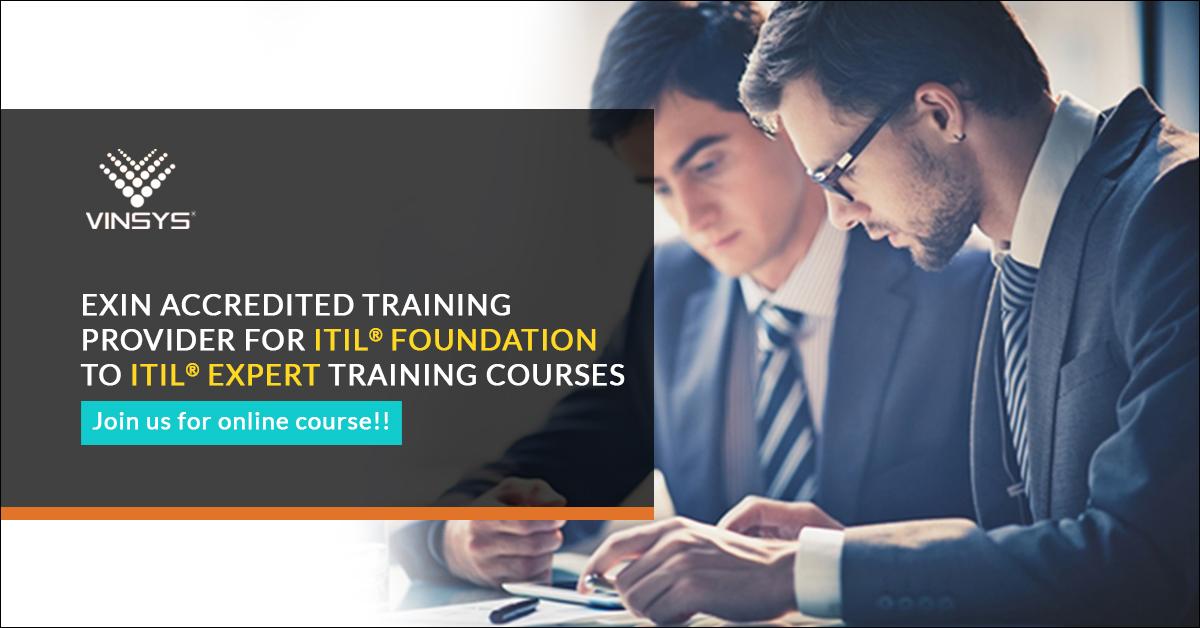 ITIL Certification Training in Bangalore| ITIL V3 Foundation Course in Bangalore-Vinsys, Bangalore, Karnataka, India