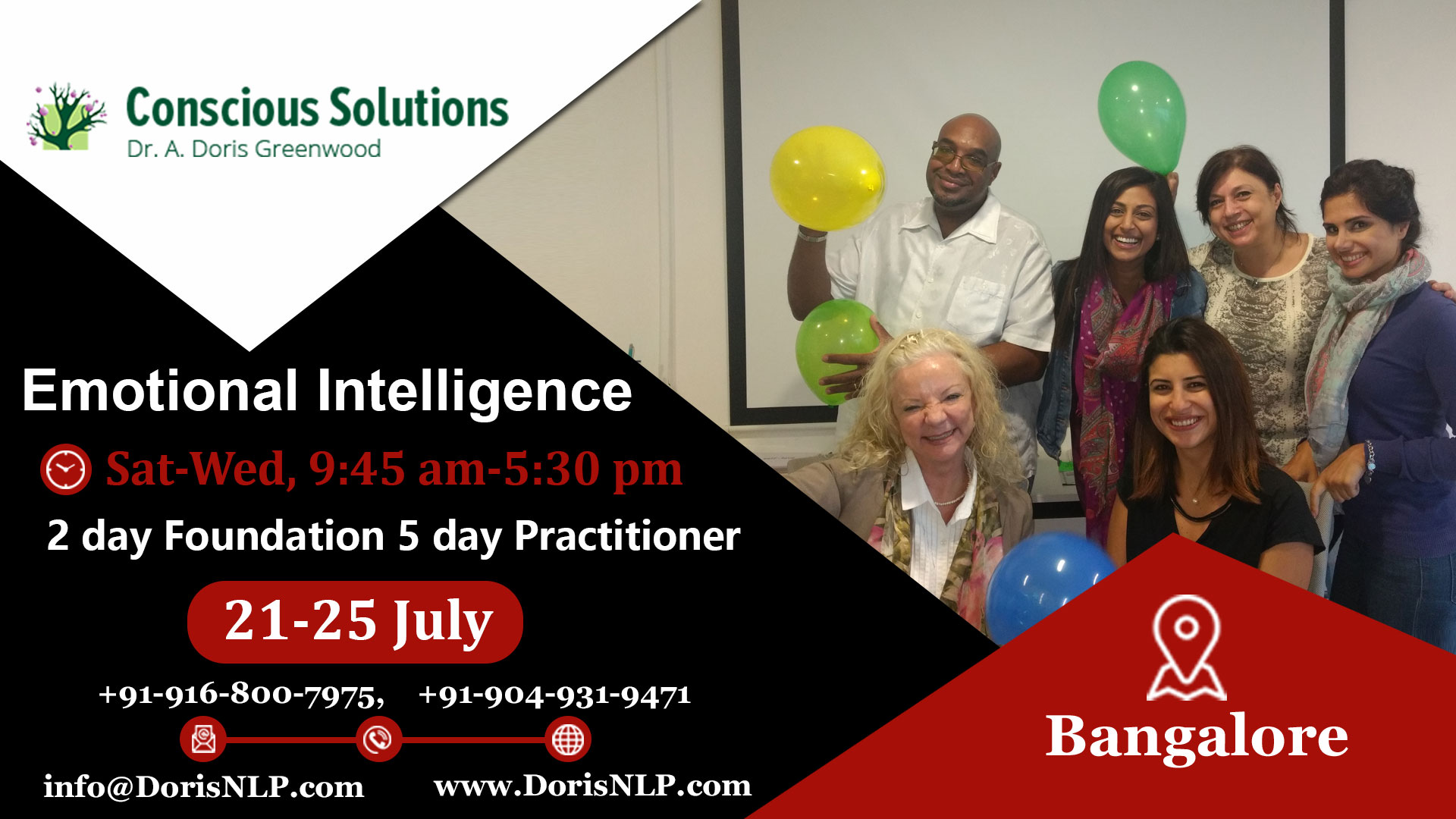 Emotional Intelligence Certifications program at Bangalore, Bangalore, Karnataka, India