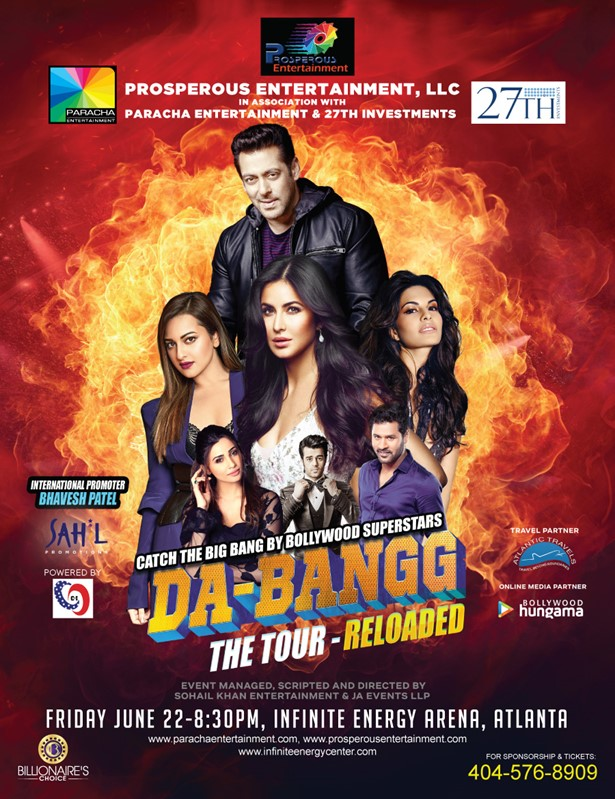 Salman Khan Concert Debangg Reloaded 2018 in Atlanta, Duluth, GA,Georgia,United States