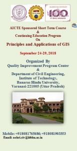 Principles and Applications of GIS