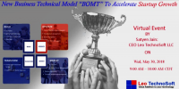 """New Business Technical Model """"BOMT"""" to accelerate startup growth"""