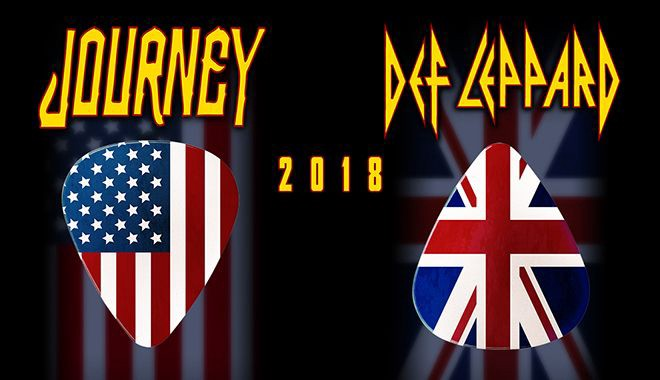 Journey & Def Leppard 2018 Tickets, Newark, New Jersey, United States