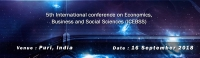 5th International conference on Economics, Business and Social Sciences (ICEBSS)