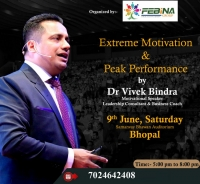Extreme Motivation Seminar By Dr Vivek Bindra in Bhopal