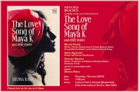 Book launch | The Love Song of Maya K & Other Stories