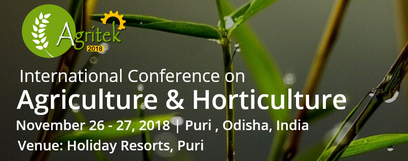 International Conferences on Agriculture & Horticulture