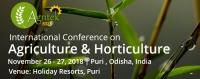 International Conferences on Agriculture & Horticulture (Agritek-2018)