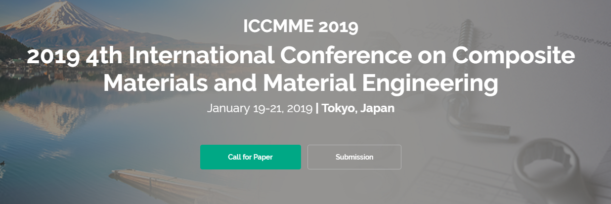 2019 4th International Conference on Composite Materials and
