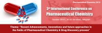 3rd International Conference on Pharmaceutical Chemistry