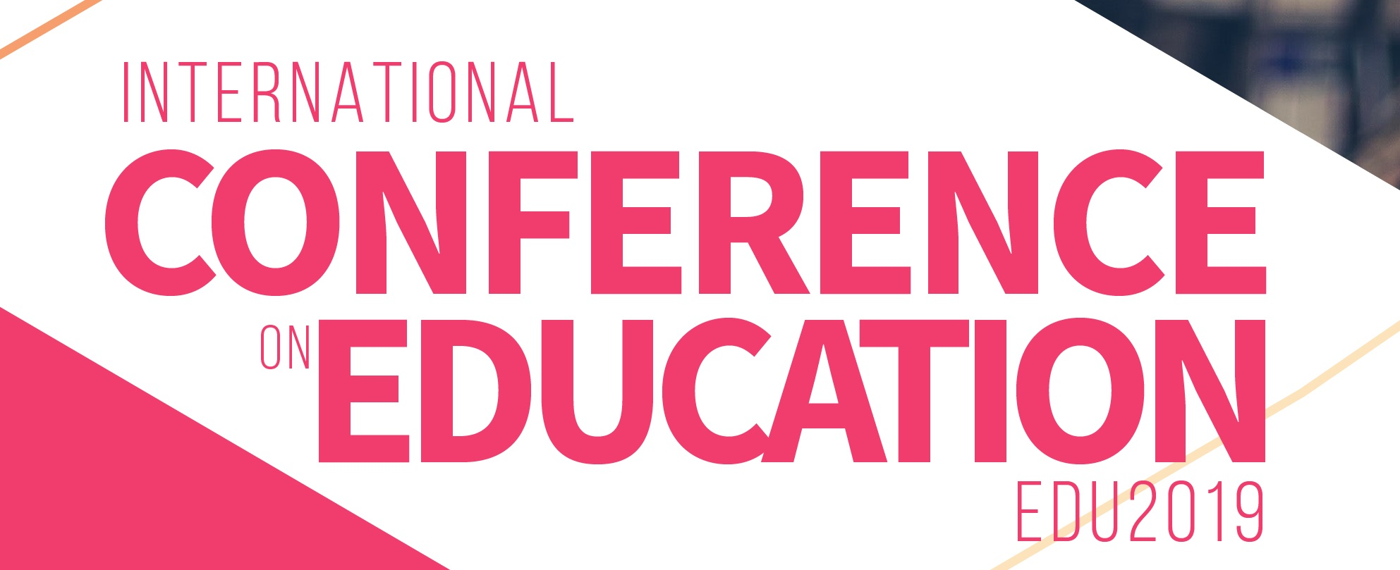 International Conference on Education (EDU2019), Athens, Attica, Greece