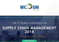 The 4th World Conference on Supply Chain Management (WCOSM 2018)