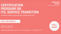 Itil Service Transition Training & Certification