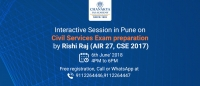 Free Interactive Session with IAS Topper Rishi Raj (AIR 27, CSE 2017)