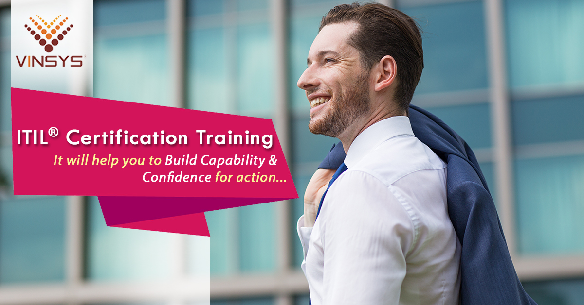 ITIL  Foundation Certification Training in Pune- ITIL Certification Cost in Pune- Vinsys, Pune, Maharashtra, India