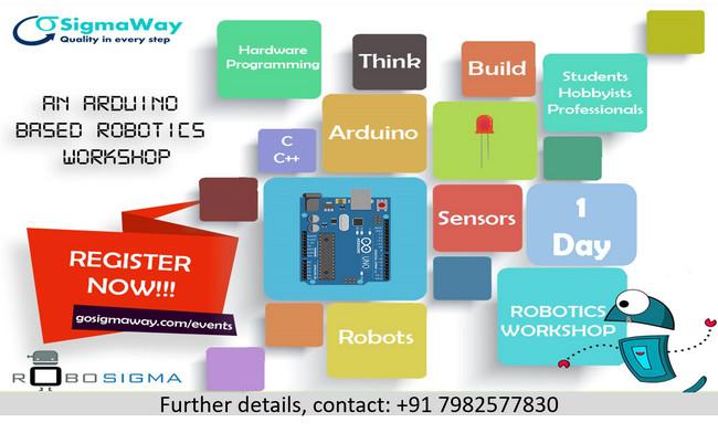 RoboSigma - Arduino 4 Beginners Workshop, East Delhi, Delhi, India