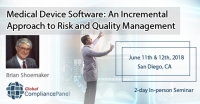 Medical Device Software | Risk & Quality Management Course 2018