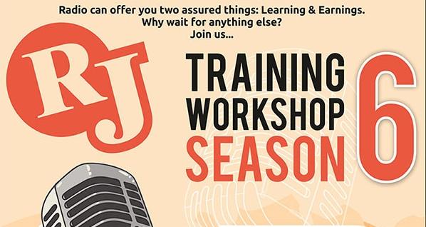 R J Training Workshop Season 6, Ahmedabad, Gujarat, India