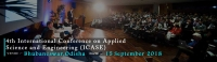 4th International Conference on Applied Science and Engineering (ICASE)