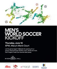 Men's World Soccer Kickoff