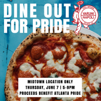 Dine Out For Pride at Varuni Napoli