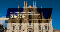 2019 10th International Conference on Environmental Science and Development (ICESD 2019)--EI Compendex, Scopus