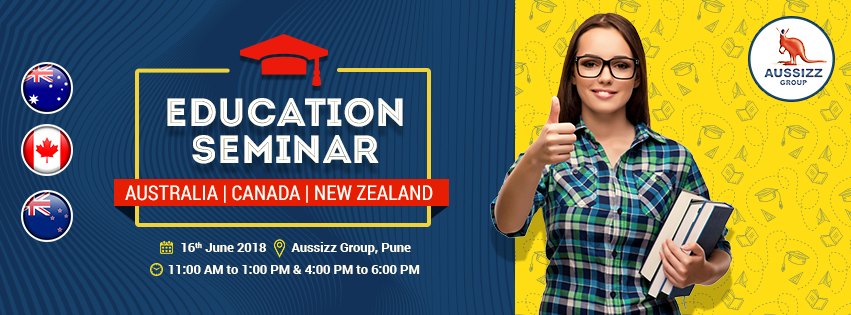 Education Seminar on Australia, Canada & New Zealand, Pune, Maharashtra, India