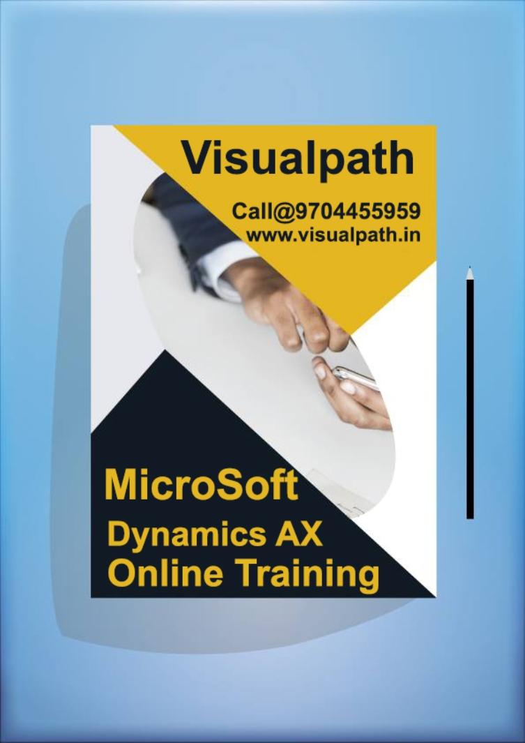 Microsoft Dynamics Ax Advancedms Dynamics Ax 70 Online Demo Class