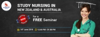 FREE seminar on Study Nursing in New Zealand & Australia