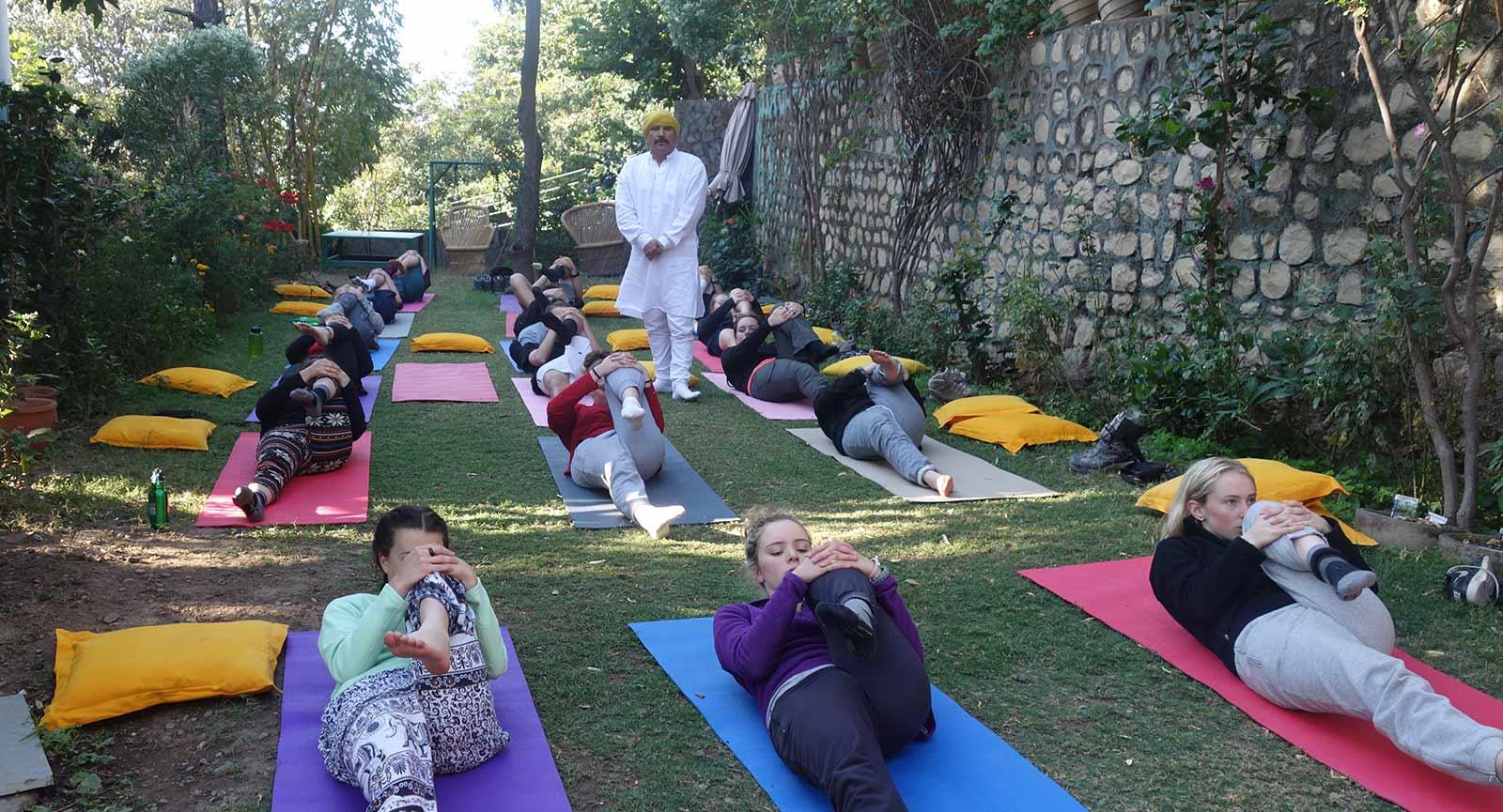 200 Hours Yoga Teacher Training in Rishikesh, Tehri Garhwal, Uttarakhand, India