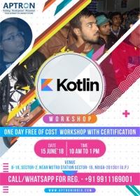 Free KOTLIN WORKSHOP with Certificate