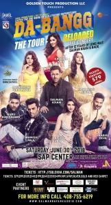 Salman Khan Concert Dabanng Reloaded 2018 Bay Area