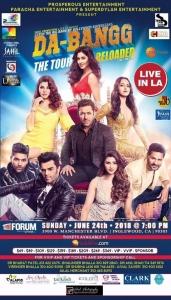 Salman Khan Concert Dabangg Reloaded 2018 Los Angeles