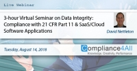 Cloud Software Applications for 21 CFR Part 11