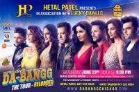 Salman Khan Concert Dabangg Reloaded 2018 Chicago