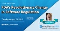 Revolutionary Change in FDA Software Regulation