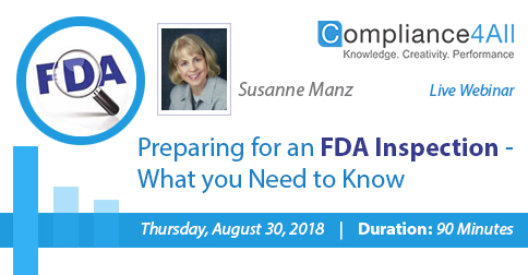 What you Need to Know to Prepare FDA Inspection, Fremont, California, United States