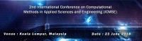 2nd International Conference on Computational Methods in Applied Sciences and Engineering (ICMSE)