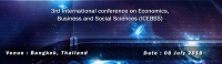 3rd International conference on Economics, Business and Social Sciences (ICEBSS)