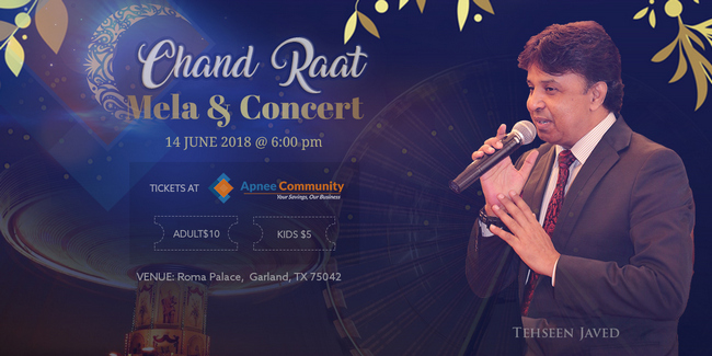Chand Raat Mela and Concert Live in Garland, Tx, Garza, Texas, United States