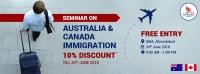 Free Seminar On Australia & Canada Immigration