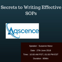 Secrets to Writing Effective SOPs