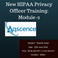 New HIPAA Privacy Officer Training: Module-2