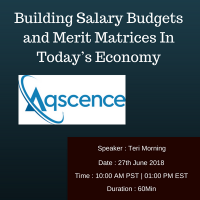 Building Salary Budgets and Merit Matrices In Today's Economy