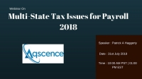 Multi-State Tax Issues for Payroll 2018