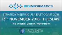 Bioinformatics Strategy Meeting US East Coast 2018
