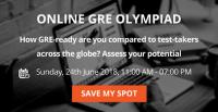 Online GRE Olympiad